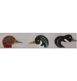 JP Needlepoint Duck Heads belt