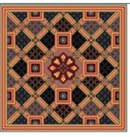 Caron Japan - geometric<br />11.25&quot; x 11.25&quot;