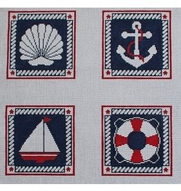 Trish Gunning Nautical Coaster Set