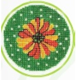 Colonial Needle Daisy Yellow <br />3&quot; Round