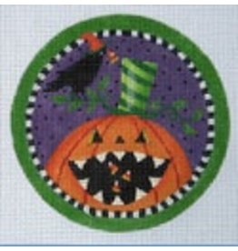 Danji Pumpkin &amp; Crow Ornament<br />