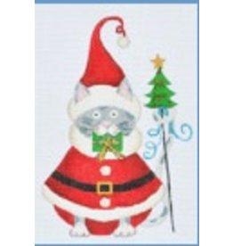 Danji Santa Cat<br />5&quot; x4&quot;