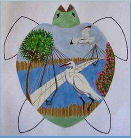 Danji Charleston Turtle<br />17&quot; x 15&quot;