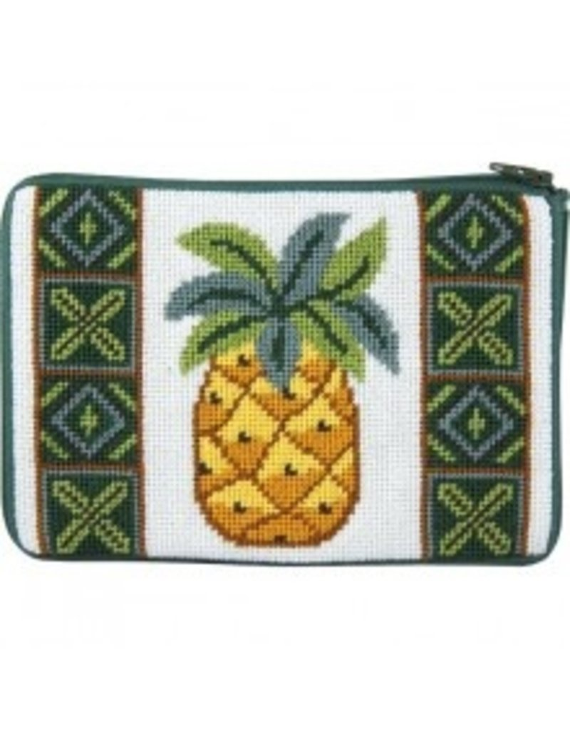Alice Peterson Pineapple cosmetic bag