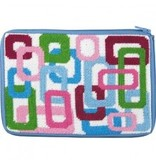 Alice Peterson Colorful loops cosmetic case