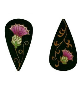 Amanda Lawford Thistle Scissors Case