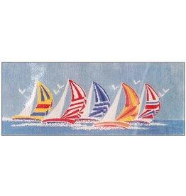 Sailboat cummerbund