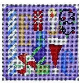 Associated Talent Believe Ornament/Coaster<br />3.25&quot;x3.25&quot;