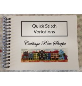Custom House Book - Quick Stitch Variations
