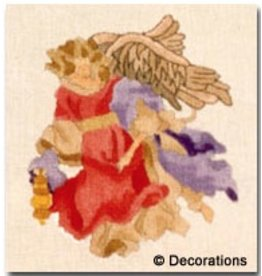 Decorations Angel in red gown<br />