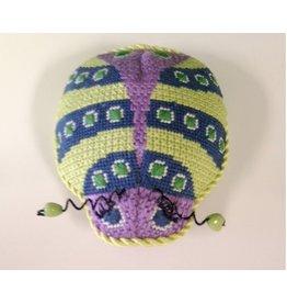Colonial Needle Petite Lady Bug<br />4&quot;x4&quot;