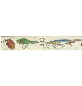Elizabeth Turner Fishing Collage belt