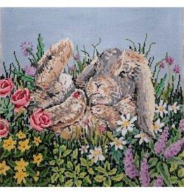 Fleur de Paris Some Bunny<br />10.5&quot;x10.5&quot;