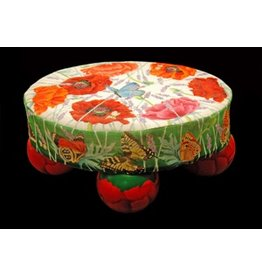 Fleur de Paris Footstool w/painted bunn feet<br />