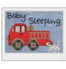 J. Child Fire Engine Baby Sleeping