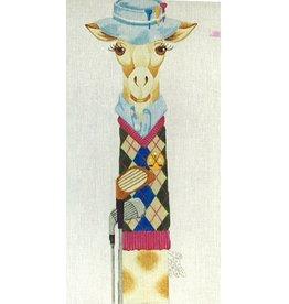 J. Nichols Male golfer giraffe