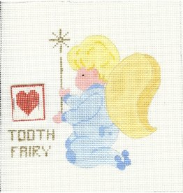 All About Stitching Little Boy Angel Tooth Fairy<br />