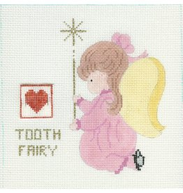 All About Stitching Little Girl Angel Tooth Fairy  <br />