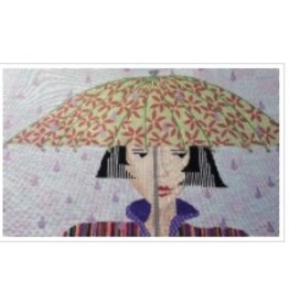 All About Stitching Rain Drops<br />