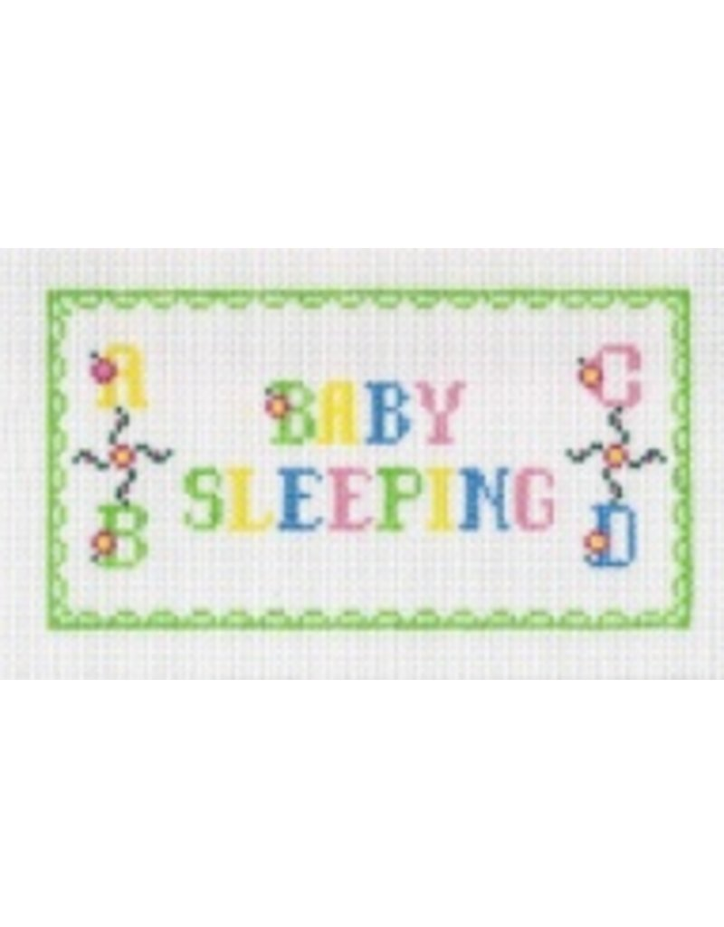 All About Stitching Baby Sleeping <br />5&quot; x 8&quot;