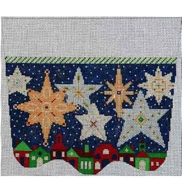 Elizabeth Turner Starry Starry Night Stocking Cuff<br />