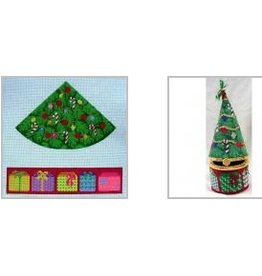 Julia Christmas ornament hinged gift box<br />