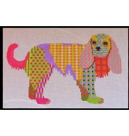 Pajamas &amp; Chocolate Patchwork King Charles Spaniel<br />