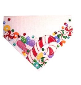 Artist Collection Candy Cane and Candy Stocking Topper