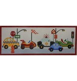 Alice Peterson Cars for Boys<br />19.5&quot; x 7.5&quot;
