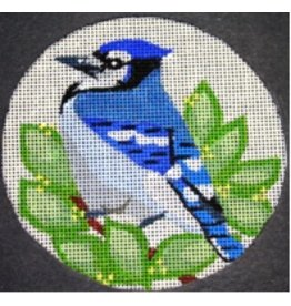 Melissa Prince Blue Jay<br />4&quot; Round