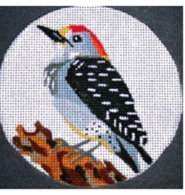 Melissa Prince Woodpecker<br />4&quot; Round