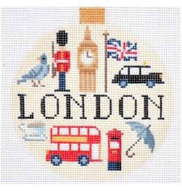 Kirk &amp; Hamilton London - ornament<br />4&quot; Round
