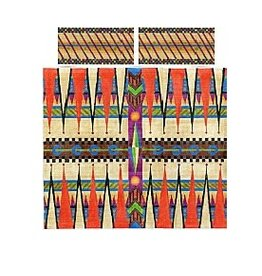 Zecca Jewel Backgammon set w/dice cups<br />