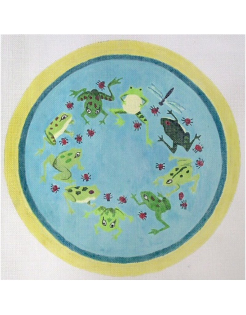 Barbara Russell Frog Pillow<br />