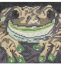 Barbara Russell Frog Coaster - 4<br />4&quot; x 4&quot;