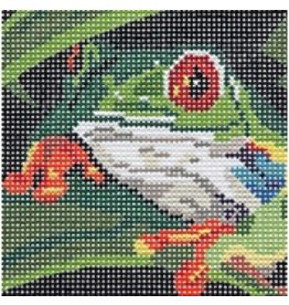 Barbara Russell Frog Coaster - 3<br />4&quot; x 4&quot;