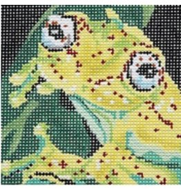 Barbara Russell Frog Coaster - 1<br />4&quot; x 4&quot;