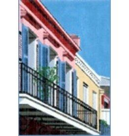 Danji Blue Balcony<br />6&quot; x 9&quot;