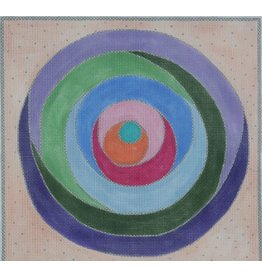 BB Needlepoint Design Circle Geometric<br />