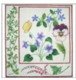 Julia Botanical Pansy<br />