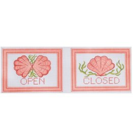 Kate Dickerson Open/Closed Damper Signs<br />