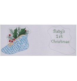 Kate Dickerson Baby 1st Christmas - ornament