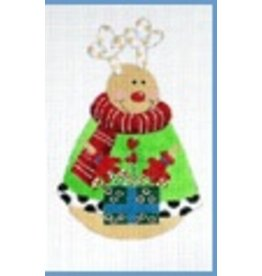 Danji Rounded Reindeer ornament<br />