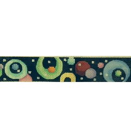 Associated Talent Belt - Circles with black background