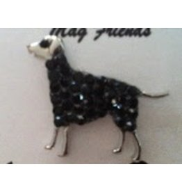 Accoutrement Designs Large Black Dog Magnet