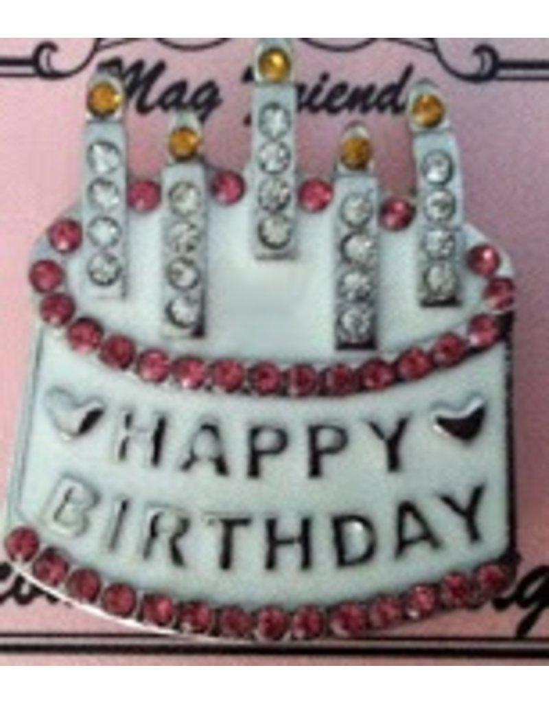 Accoutrement Designs Happy Birthday - Magnet