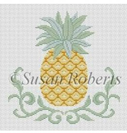 Susan Roberts Scroll Pineapple<br />