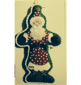 The Princess &amp; Me Santa w/blue checked socks<br />