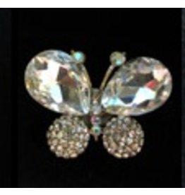 Elizabeth Turner Small Pink Butterfly - Magnet
