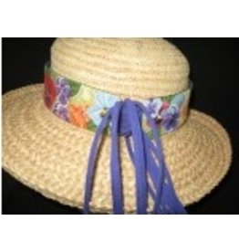 Whimsy & Grace Pansy Hat Band
